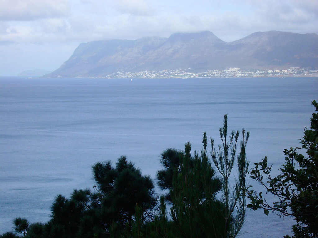 Hues of blue - Table Mountain