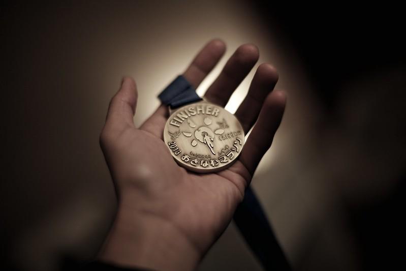 2013おきなわマラソン Finisher Medal