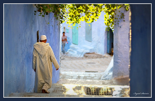 Light, Chaouen, Morocco
