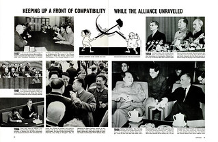 LIFE April 8, 1966 (3) - KEEPING UP A FRONT OF COMPATIBILITY WHILE THE ALLIANCE UNRAVELED