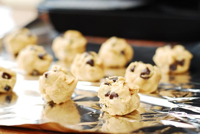 cookie dough round