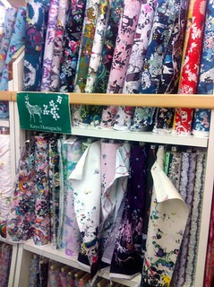 Fabric shopping Japanese style