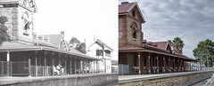 Gawler Railway station - Then and Now