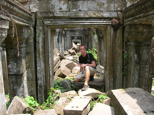 Greg Rodgers in Cambodia