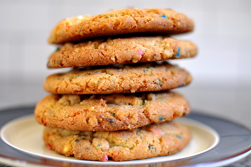 Momofuku Milk Bar Confetti Cookies