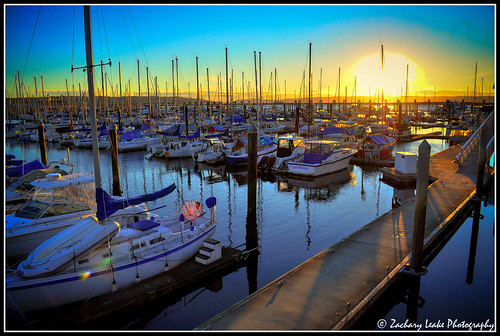 winter sunset water sailboat landscape boat northwest pugetsound hdr everett