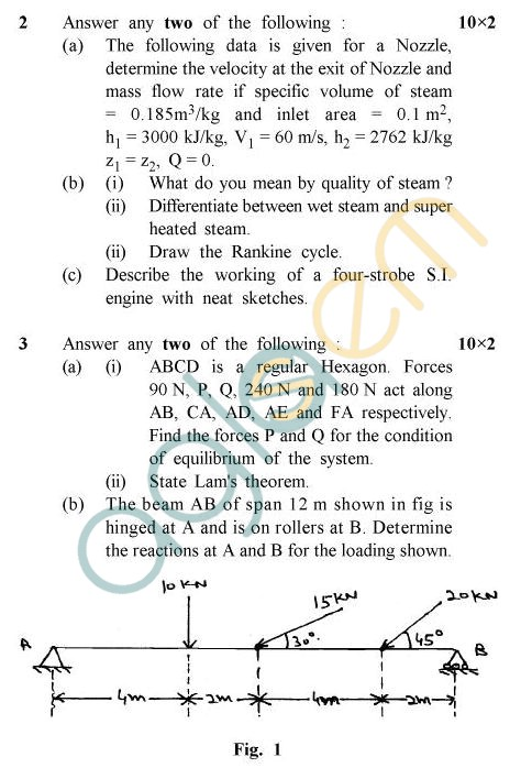 UPTU B.Tech Question Papers -TME-101/TME-201- Special Carryover Examination, 2006-2007 Electrical Engineering
