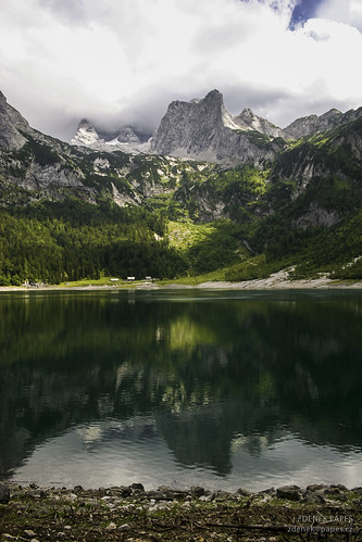 Alps lake by Zdenek Papes