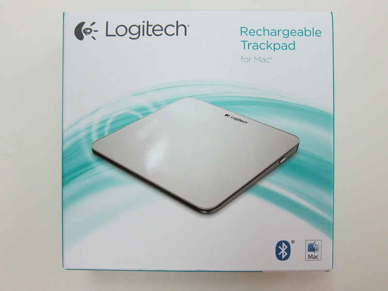 Logitech Rechargeable Trackpad for Mac (T651) - Box Front