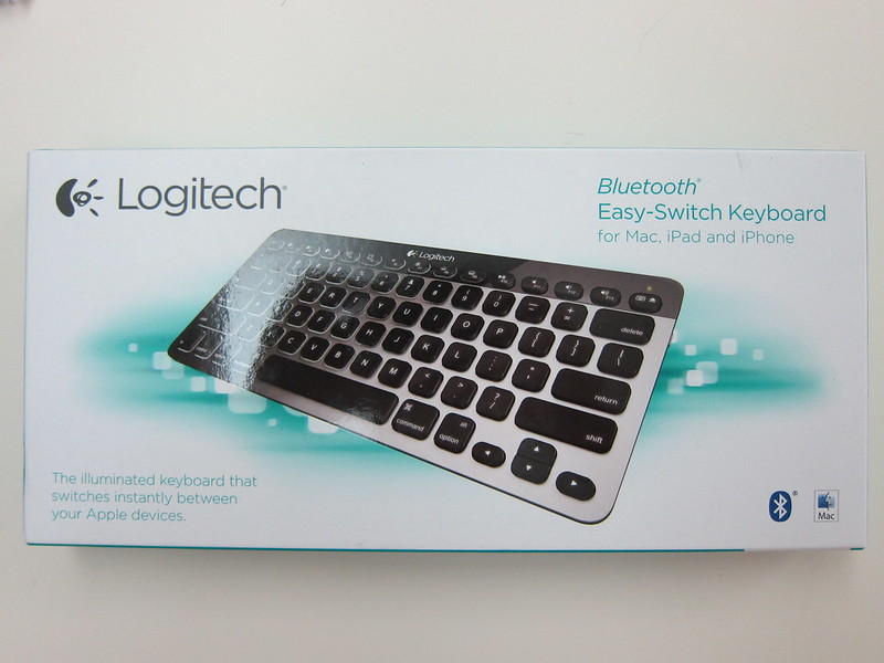 Logitech Bluetooth Easy-Switch Keyboard - Box Front