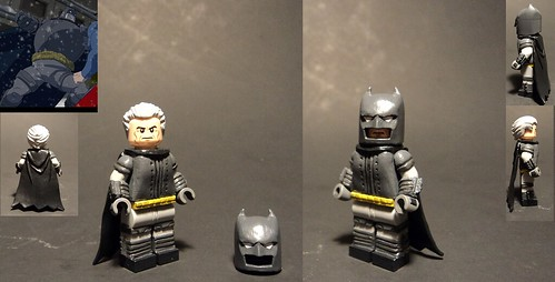 The Dark Knight Returns Batman Armored Suit