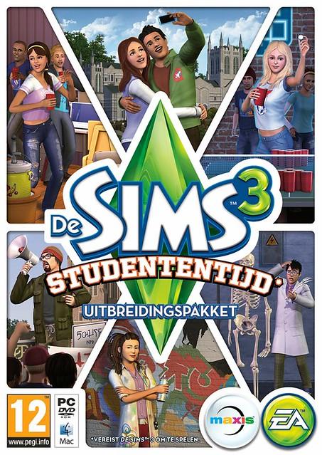 De Sims 3 Studententijd