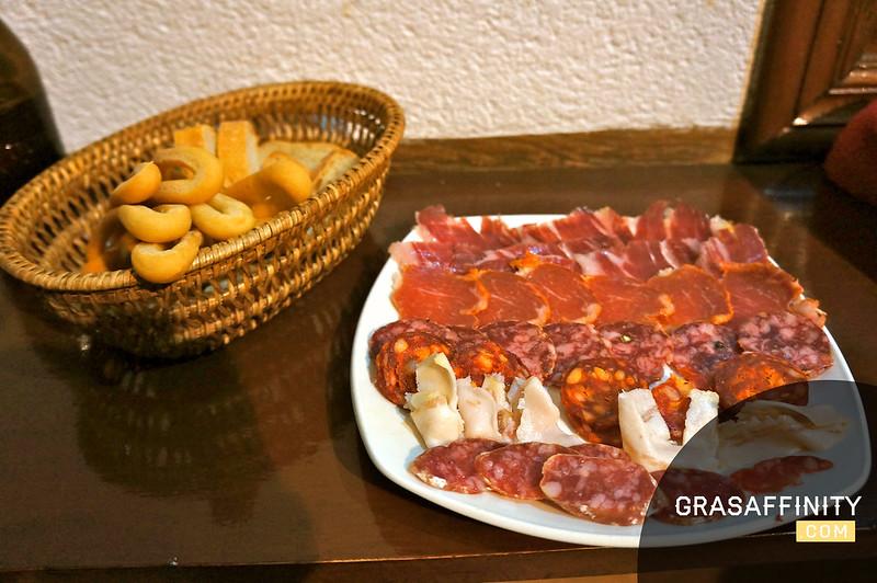Tapas en Murcia: El Parlamento Andaluz // Grasaffinity