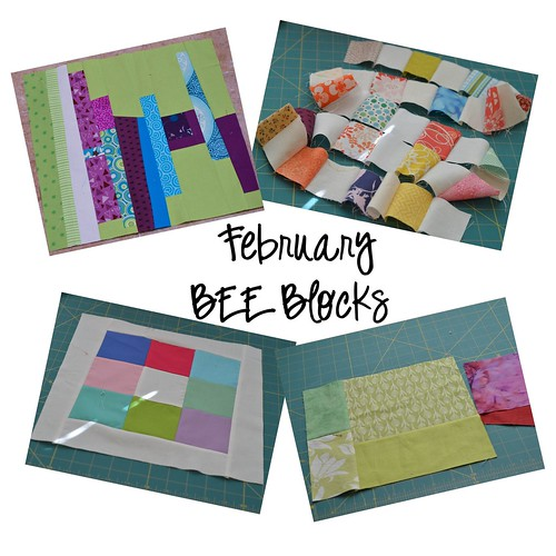 Feb Bee Blocks