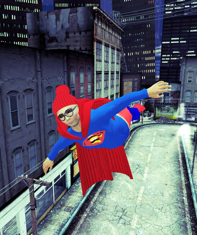 Supermanni avatar,skin,shape,cloth.,acc., cloak with ani