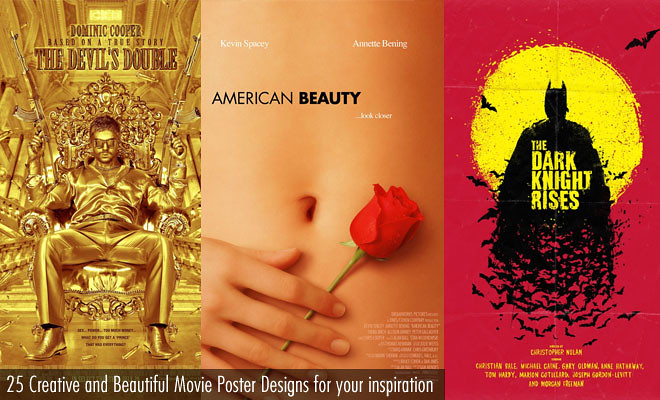 25 Creative and Brilliant Movie Poster Designs for your inspiration