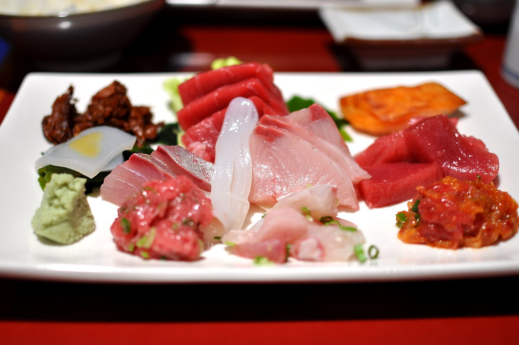 Sushi Gen Omakase Lunch Sashimi Special Los Angeles Gastronomy