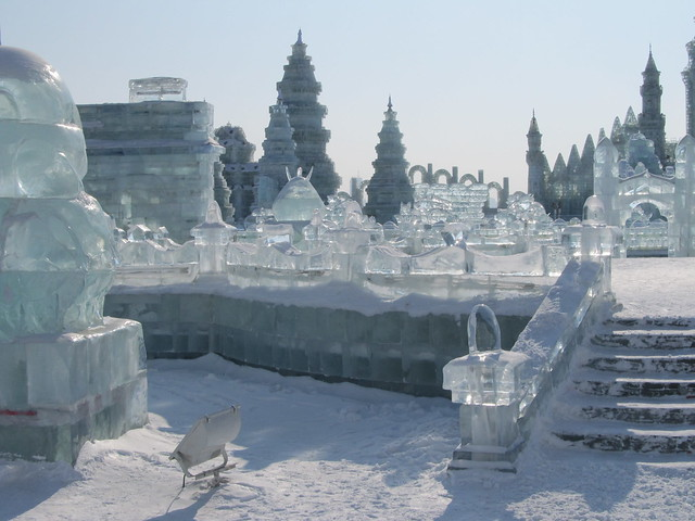 Harbin Ice and Snow Festival 2013 by CC user tracyhunter on Flickr