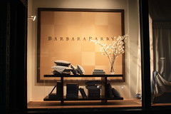 Barbara Barry Window Display by Shop Studios