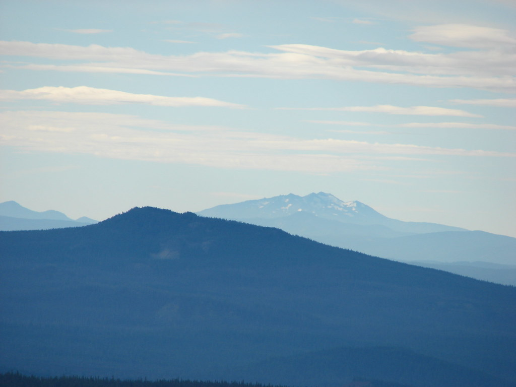 Scott Mountain and Diamond Peak