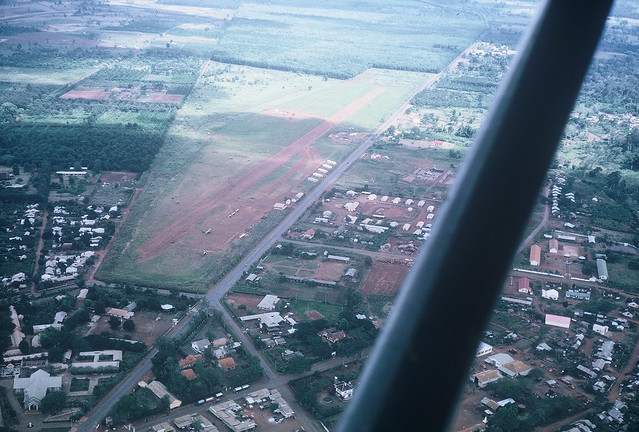Aerial view of Airfield at Ban Me Thuot