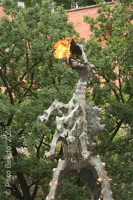 El dragón de Cracovia. © Paco Bellido, 2008