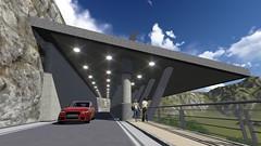 公路總局計畫蓋的4座明隧道之一。(圖片來源:公路總局第四養工處簡報)
