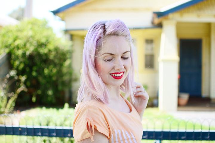peach lilac d