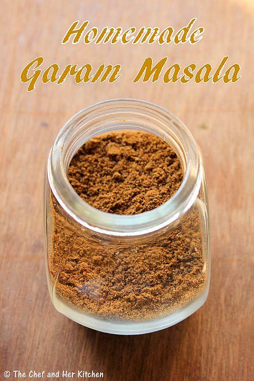 The chef and her kitchen garam masala powder punjabi garam masala recipe - Garam masala recette ...