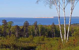The Sandy Bluffs of Sleeping Bear Dunes