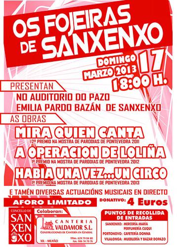 Sanxenxo 2013 - As Fojeiras de Sanxenxo - cartel