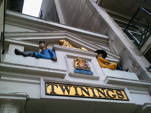 Twining's Tea Shop in The Strand