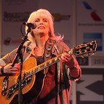 Fri, 15/03/2013 - 2:06am - Emmylou Harris and Rodney Crowell at the WFUV Public Radio Rocks Day Stage, SXSW, Austin, TX. 3-15-2013. Photo by Gus Philippas