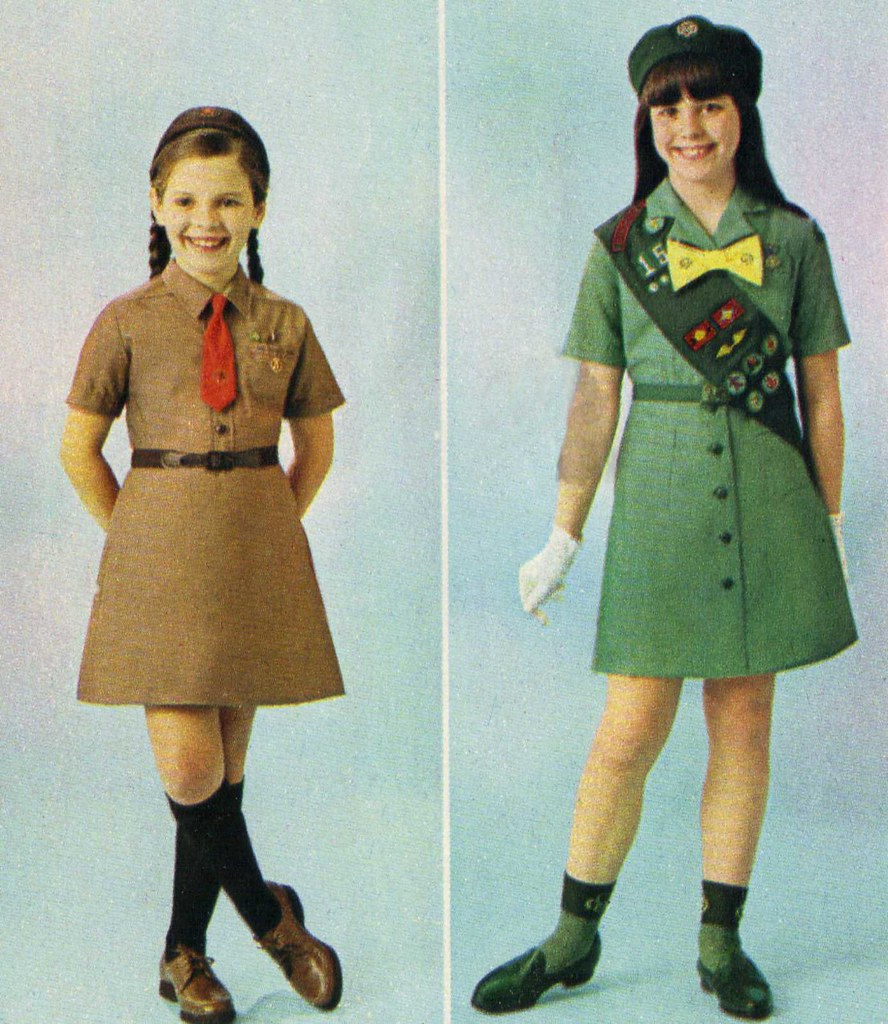 Rather valuable girl scout uniforms