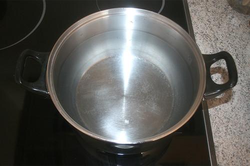 16 - Wasser erhitzen / Heat up water