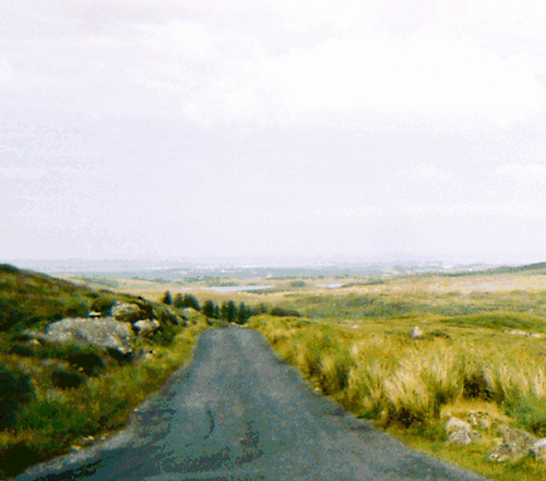Driving Through Connemara  (Posterized Photo) by randubnick