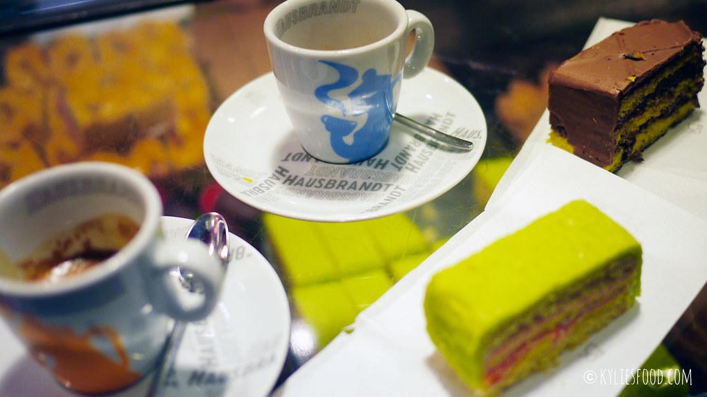 Espresso and cakes, Marchini Time, Venice, Italy