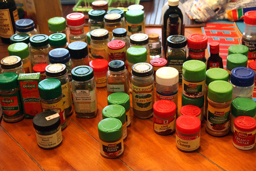 Spices-in-Alphabetical-Order