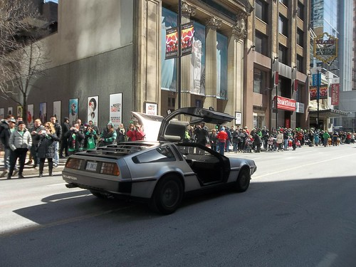 DeLoreans of St. Patrick's Day (2)