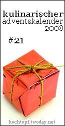 kulinarischer Adventskalender #21