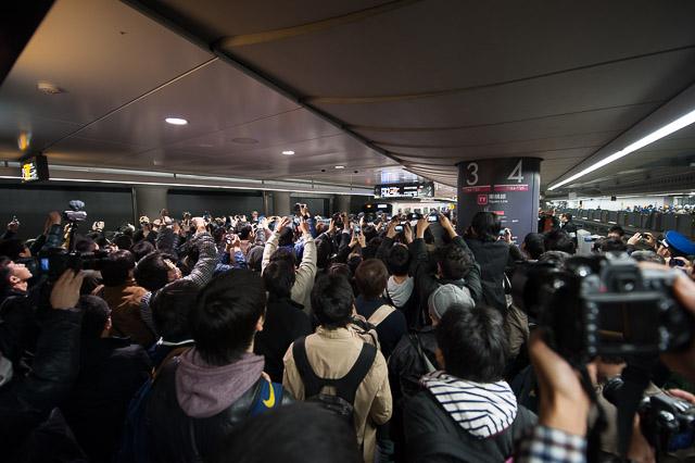 渋谷駅東横線地下ホーム