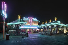 Closing Time At Flo's V8 Cafe