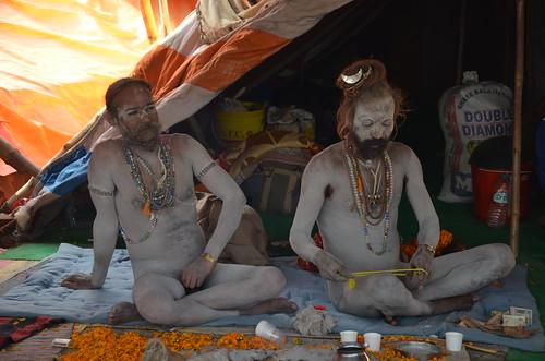 Kumbh Mela Naga Baba by Ginas Pics