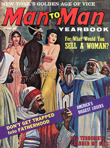 Cover of Man To Man, Spring 1963.