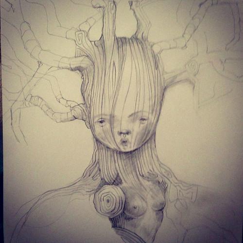 tree bust
