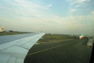 Queing for Take Off