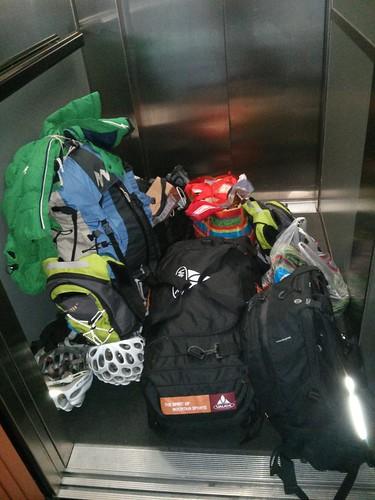 Pensamientos en alto: ¿equipaje lo justo? ya nos costará.. jaja