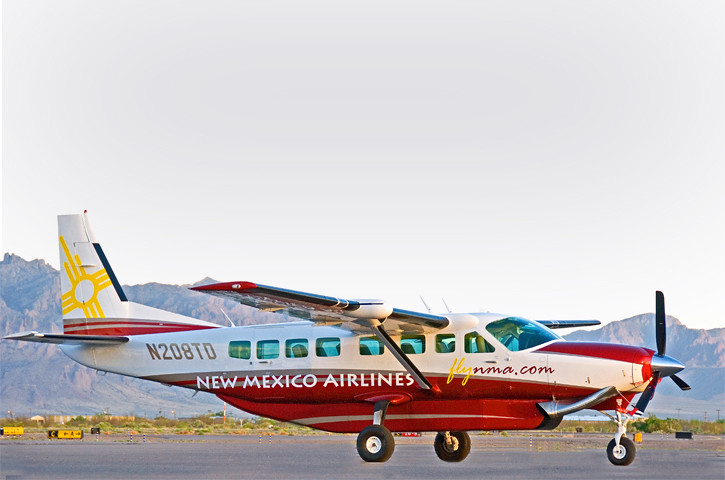 New Mexico Airlines plane