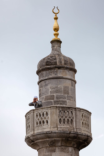 Muezzin; copyright 2013: Georg Berg