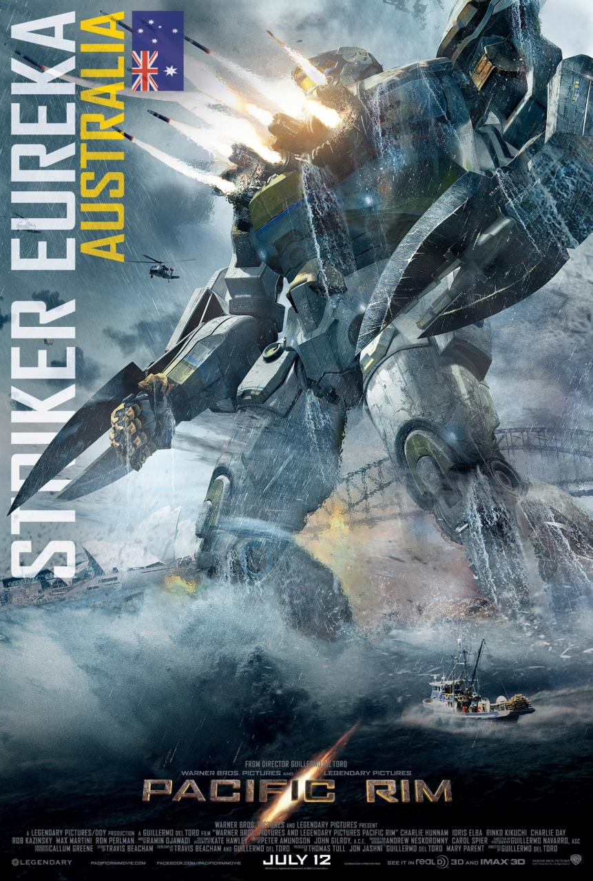 Pacific Rim Jaegers  STRIKER EUREKA  The Steel BulldogPacific Rim Robots Names